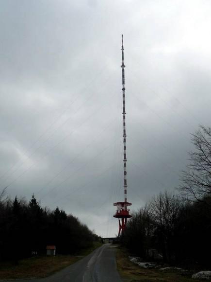 wieża rtv Sucha Hora