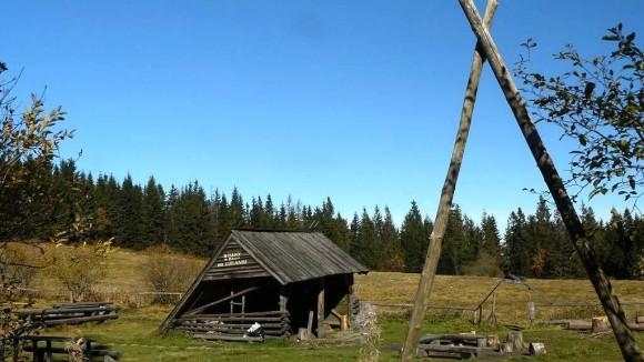 studencka baza namiotowa na polanie Wierch Lubania