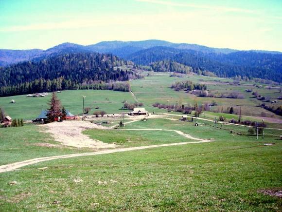 przełęcz Drzyślawa i masyw Lubania