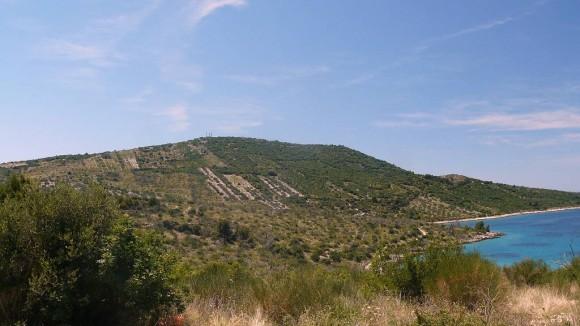 wzgórze Kremik nad zatoką Primosten
