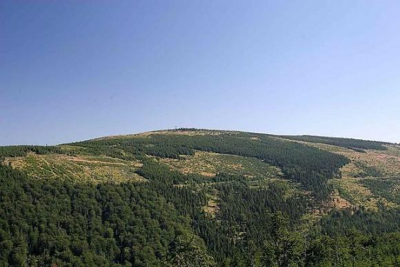czeski wierzchołek Smreka- 1124 m