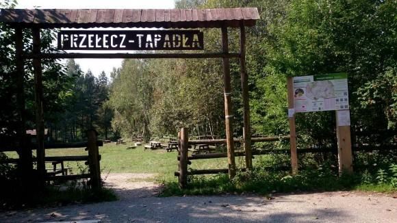 miejsce biwakowania na Przełęczy Tapadła