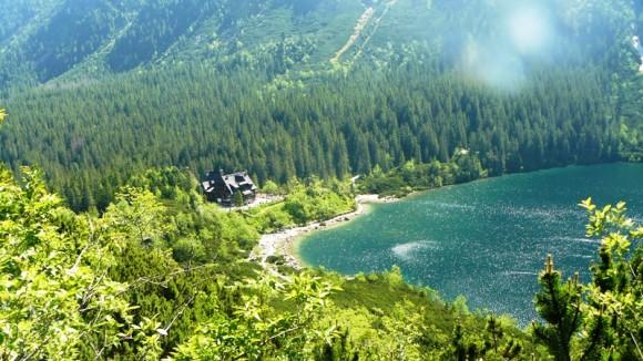 cudnie położone schronisko PTTK nad Morskim Okiem
