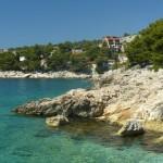 Okolice Primosten- skalista plaża, stare miasto i zachody słońca nad Adriatykiem, czyli magia Chorwacji