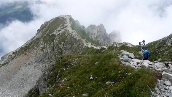 Kazalnica Mięguszowiecka widziana  z góry