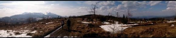z widokiem na Tatry