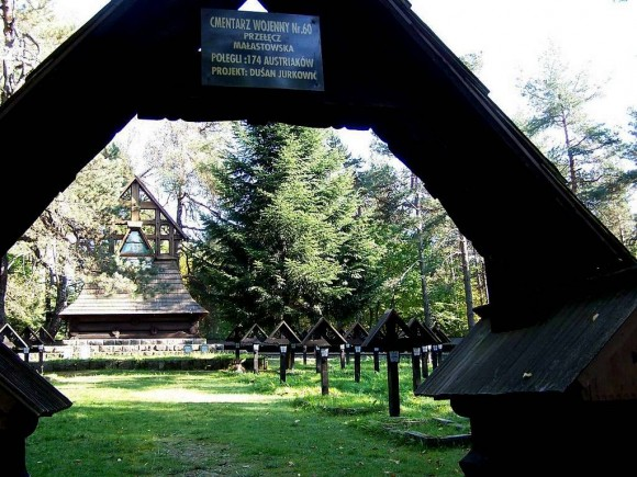 cmentarz wojenny z I wojny św. nr. 60 na Przeł.Małastowskiej