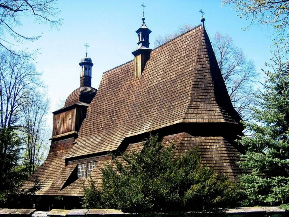 XVI w. kościół w Sękowej