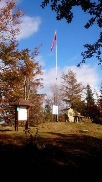 krajobraz wierzchołka Szczebla