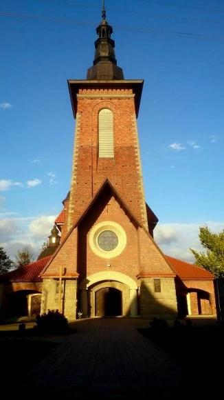 kościół parafialny w Lubniu