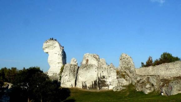 najwyższe wzniesienie Jury-skała Czubata i Cimy