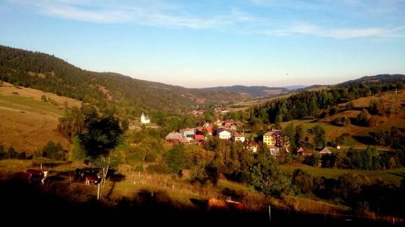 Osturnia w dolinie Osturniańskiego Potoku