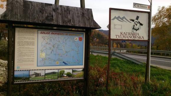 początek szlaku w Tylmanowej