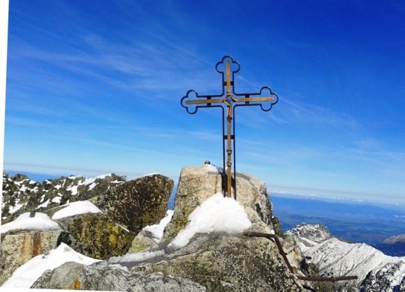 krzyż na Gerlachu