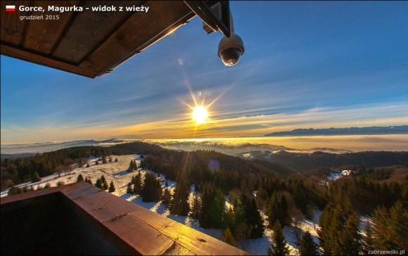 widok z wieży widokowej na Magurce, foto T.Zabrzewski