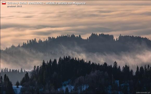 morze chmur i gorczańskie grzbiety, foto T.Zabrzewski