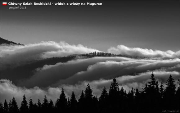 taniec chmur nad pasmem Lubania, foto Zabrzewski.pl