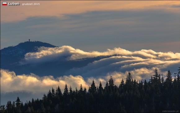 Lubań w chmurach, foto T.Zabrzewski
