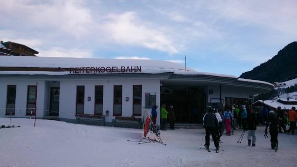 dolna stacja kolejki Reiterkogelbahn w Hinterglemm