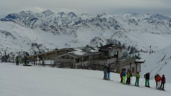 schronisko Westgipfelhütte na zboczach Schattberga West