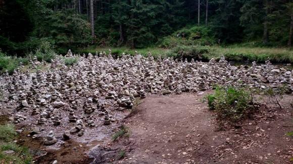 kopczyki w Dolinie Łaby