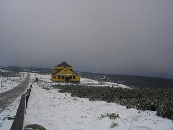 Śląski Dom na Równi pod Śnieżką na wysokości 1400 m.npm