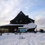 Zima w Bacówce nad Wierchomlą