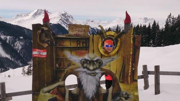 górski duch Berg Kodok- atrakcja nie tylko dla dzieci
