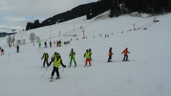 nauka jazdy w szkółce narciarskiej Alpin-Skischule