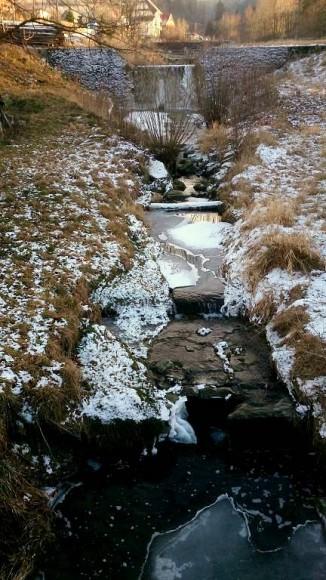 potok Poniczanka w Rabce