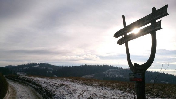 kierunek Maciejowa, tuż nad Rabką-Zdrojem