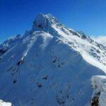 Zimowo na taternicki wierzchołek Świnicy