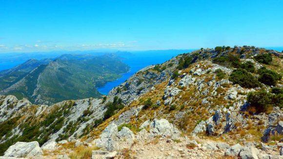 widok z Sv.Iliji, Góry Dynarskie