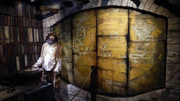 wnętrze muzeum Marco Polo