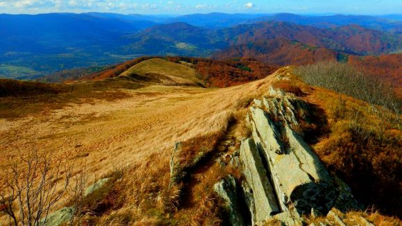 malownicze skałki Smereka i grzbiet zachodni