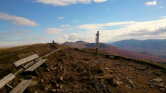 na wierzchołku Smereka - 1222 m