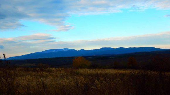 góry Matra z Niziny Węgierskiej