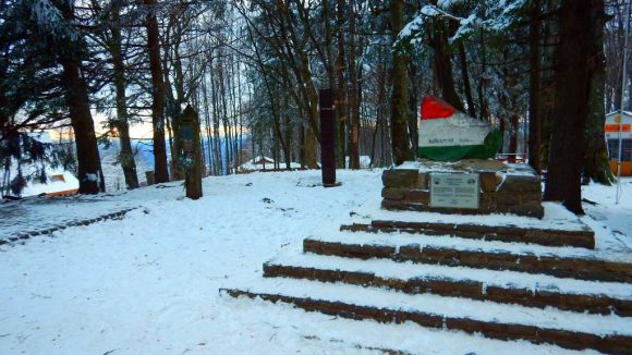 najwyższy punkt Węgier na Kekesie