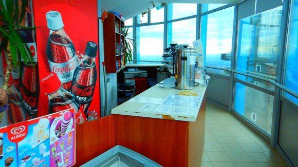 kawiarnia na tarasie TV Kilato