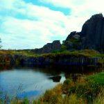 Pańska skała, skalny zamek Sloup oraz jaskinia Samuelowa i kolejka na Špičák