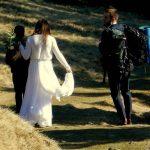 Sesja ślubna w górach -nowa piękna moda