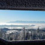 Zimowy spacer na Gorca Kamienickiego nową ścieżką z Zasadnego