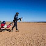 Mateusz Waligóra przeszedł samotnie pustynię Gobi