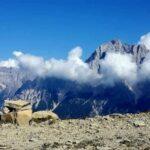 Z przełęczy Cibiana na Monte Rite, czyli w dolomitowym raju