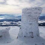 Babia Góra pewnego zimowego dnia