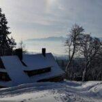 Z Łapsowej Koliby przez Bukowiny na Turbacz i dalej, czyli zimowo w Gorcach